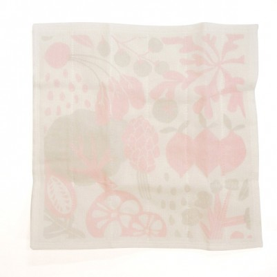 7times-layered mosquito-net fabric Kitchen Clothes (Vegetable Pink)