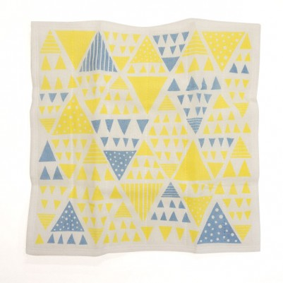 7times-layered mosquito-net fabric Kitchen Clothes (Flag Yellow)