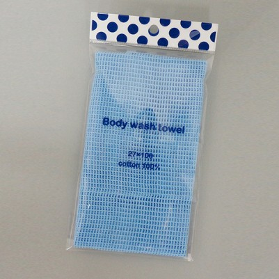 8G Body wash Towels (Sky Blue)