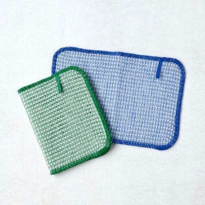 Bubble Dish clothes 2pieces (Green×Blue)