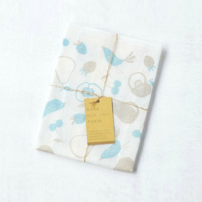 Mosquito-net fabric Kitchen Clothes (Fruits Blue)