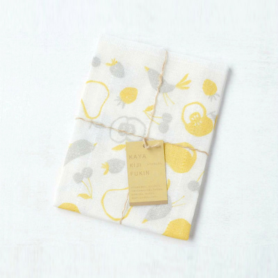 Mosquito-net fabric Kitchen Clothes (Fruits Yelow)