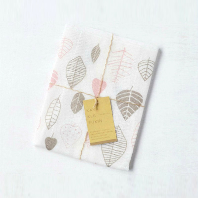Mosquito-net fabric Kitchen Clothes (Leaf Pink)