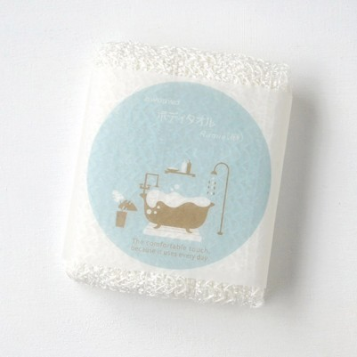Bubble-bubble ramie Body Towels