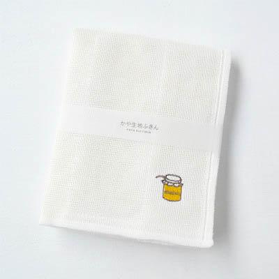 かや生地ふきん 刺繍(ジャム)