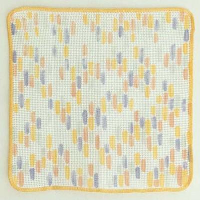 Knit Kitchen Cloth【あら生地】(ひかりパープル)