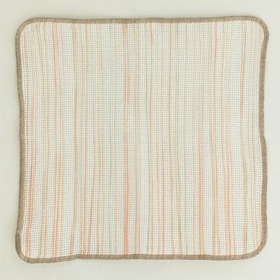Knit Kitchen Cloth【あら生地】(りゅうせんサーモンピンク)
